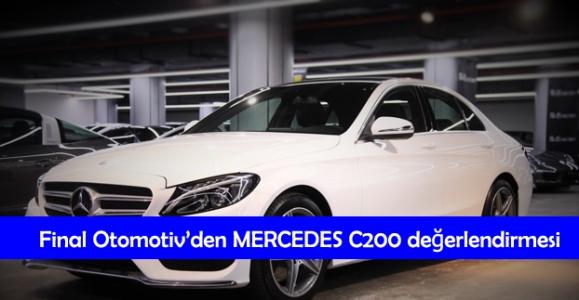Final Otomotiv'den Mercedes C200 Değerlendirmesi